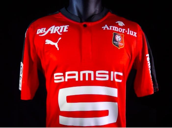 Nouveau maillot du Stade Rennais 2016-17