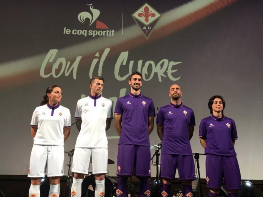 Les nouvelles tenues de la Fiorentina 2016-17