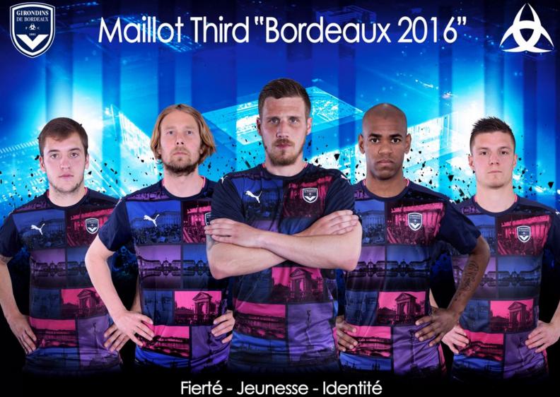Le maillot third de Bordeaux 2016-17 Puma