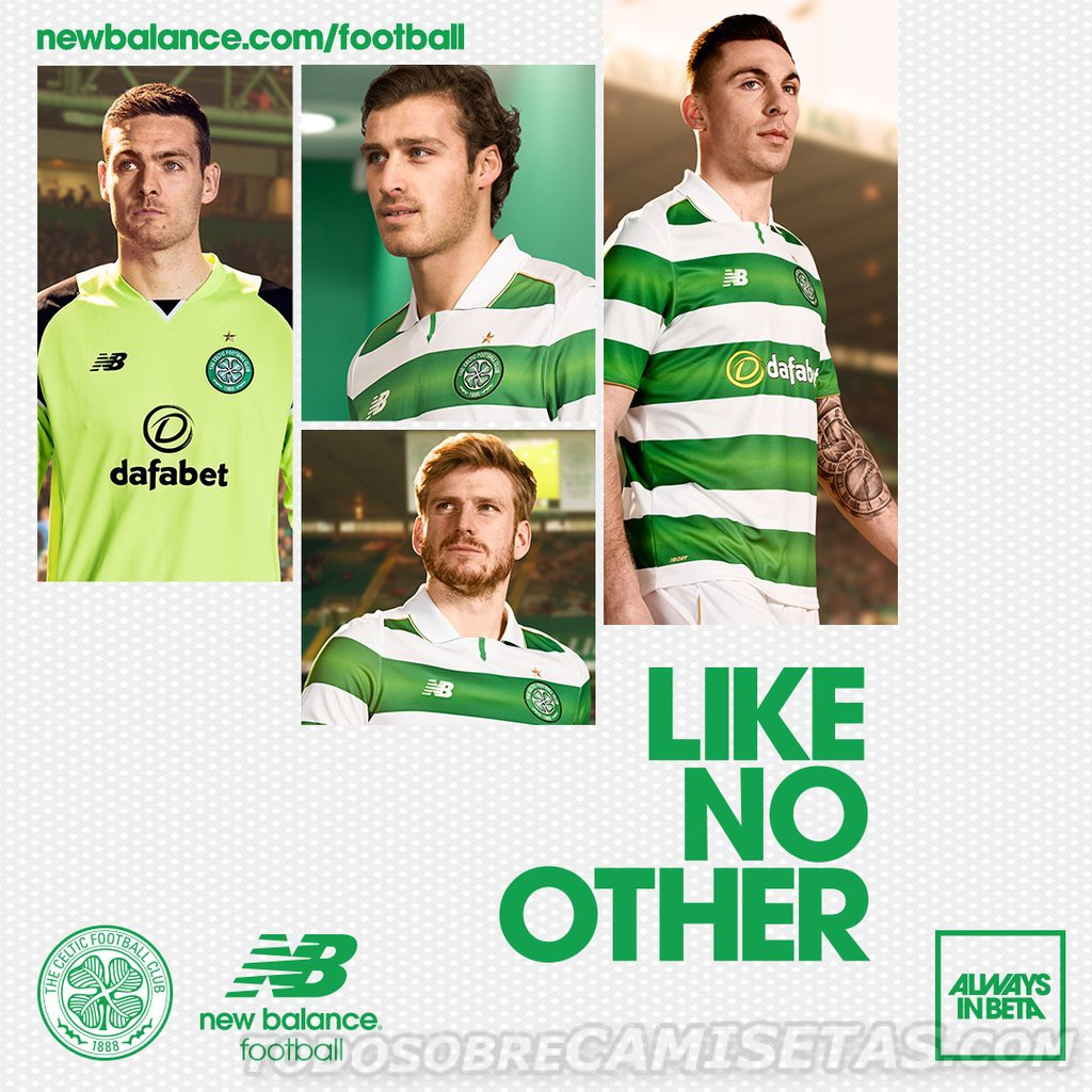 Nouveau maillot du Celtic 2016-17 New Balance