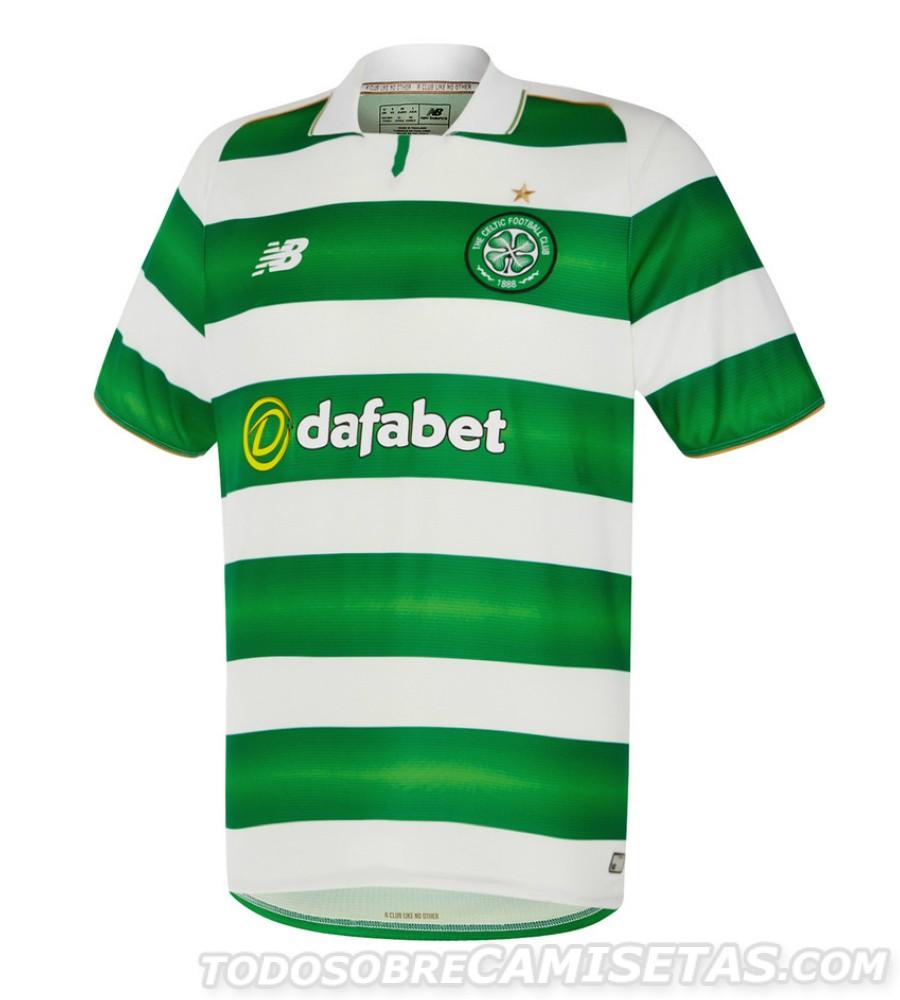 Nouveau maillot Celtic 2016-17 New Balance