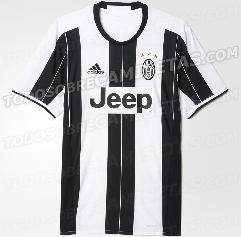 Maillot Juventus 2016-17 Adidas