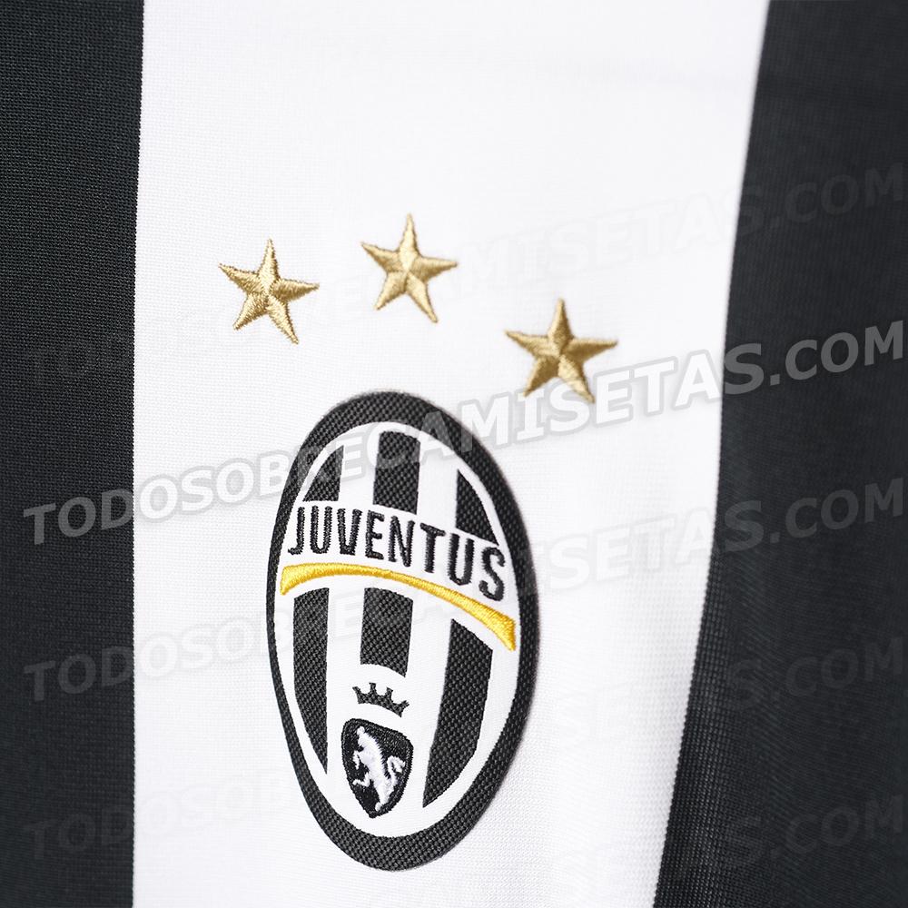 Le maillot de la Juventus 2016-17 Adidas