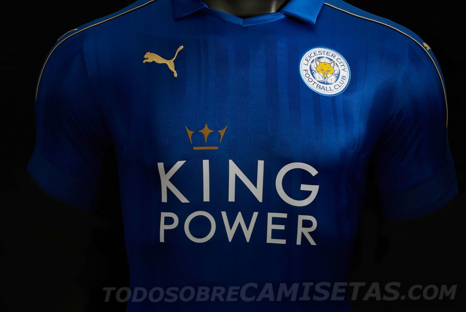 Maillot domicile Leicester City 2016-17 Puma