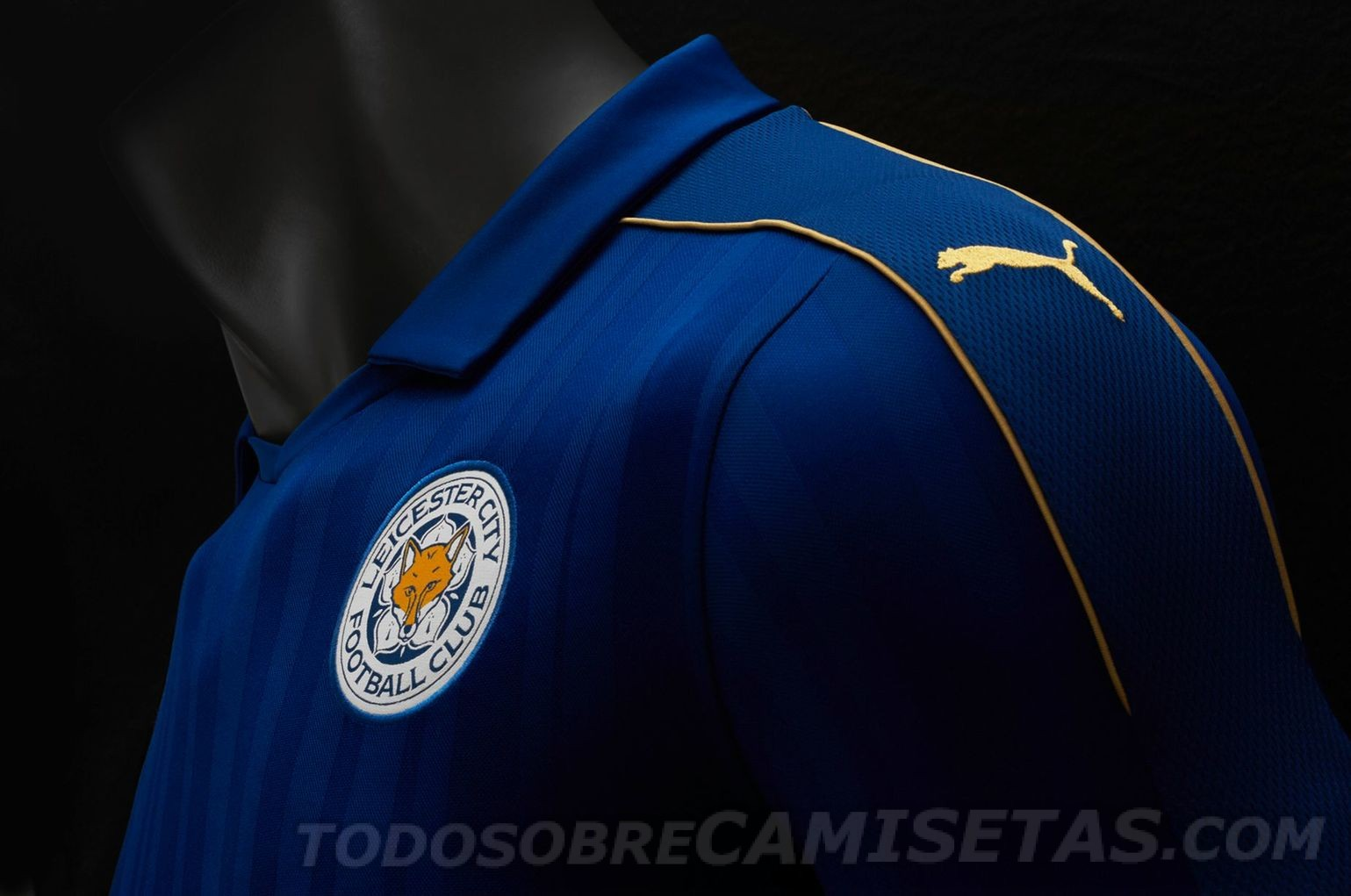 Maillot Leicester City 2016-17 Puma