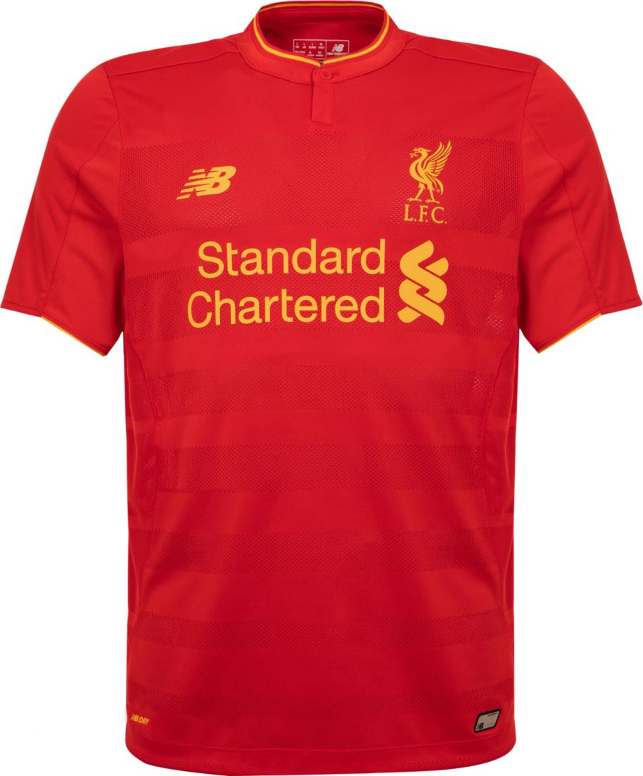 Maillot domicile Liverpool 2016-17 New Balance