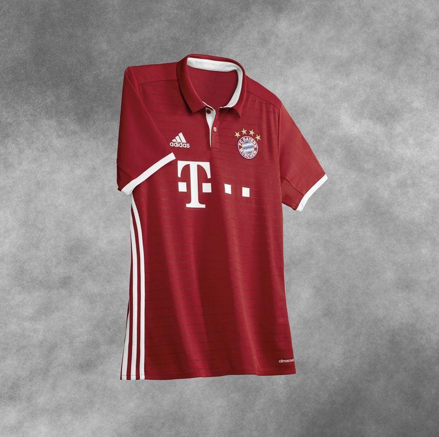 Maillot du Bayern Munich 2016-17 Adidas
