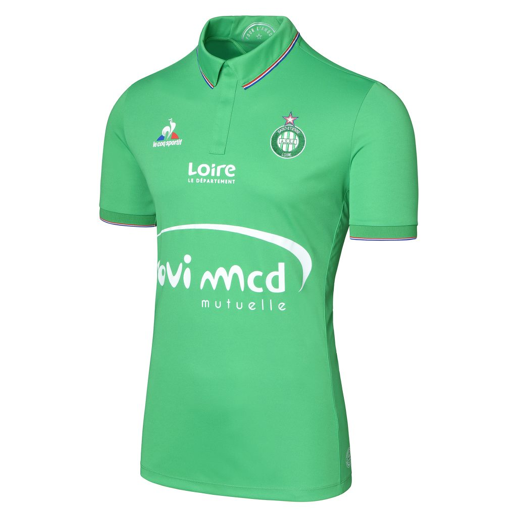 Maillot domicile des Verts 2016-17 Le Coq Sportif