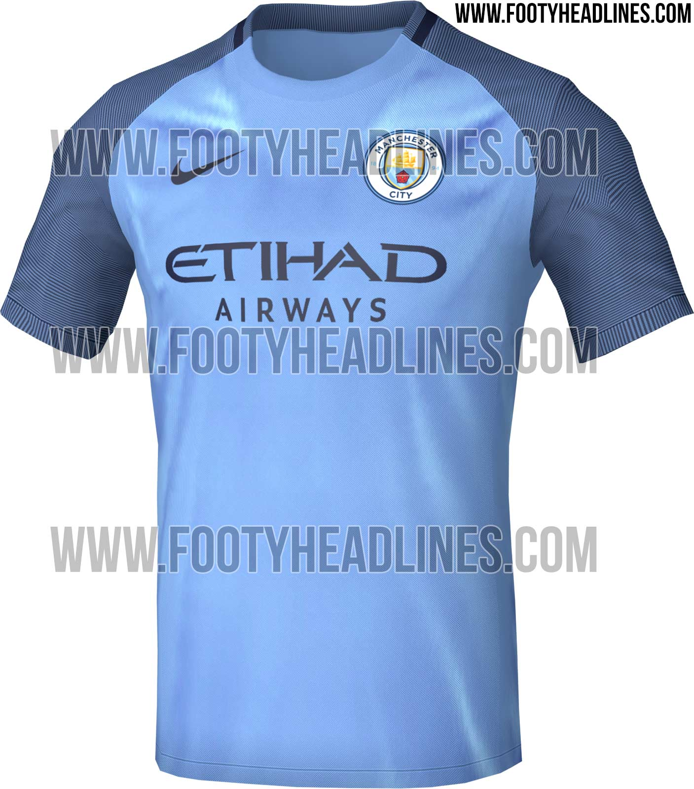Maillot domicile Manchester City 2016-17