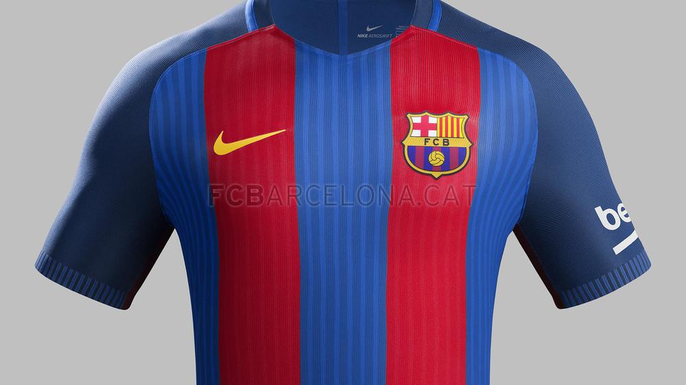 Nouveau maillot domicile Nike FC Barcelone 2016-17