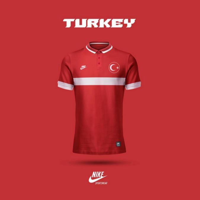Maillot Turquie version Emilio Sansolini