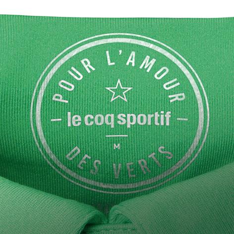 """""""Pour l'amour des Verts"""" inscrit sur la nuque"""