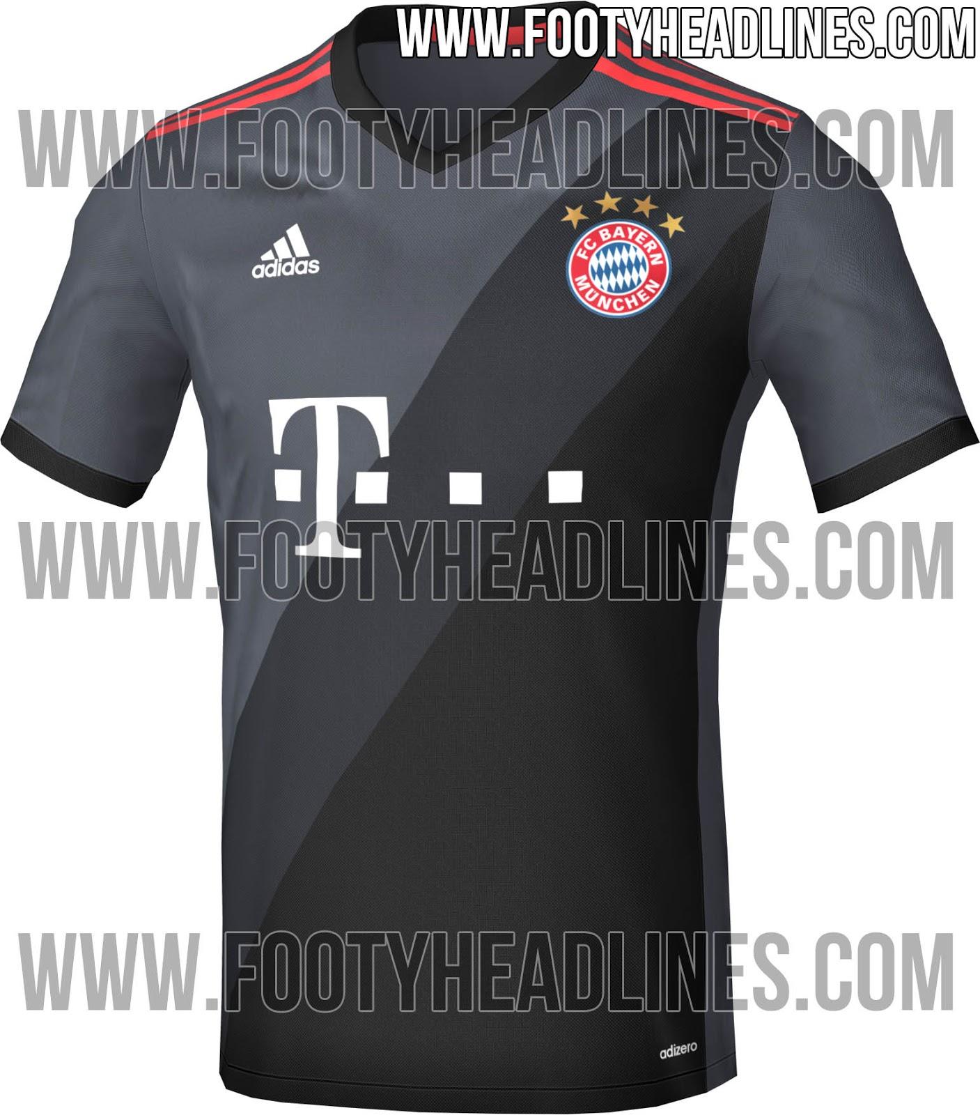 Maillot extérieur Bayern Munich 2016-17 Adidas