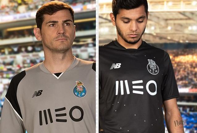 Maillot extérieur joueur et gardien du FC Porto 2016-17