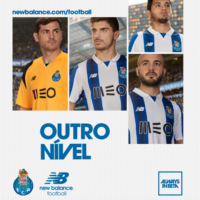 Les nouveaux maillots du FC Porto 2016-17