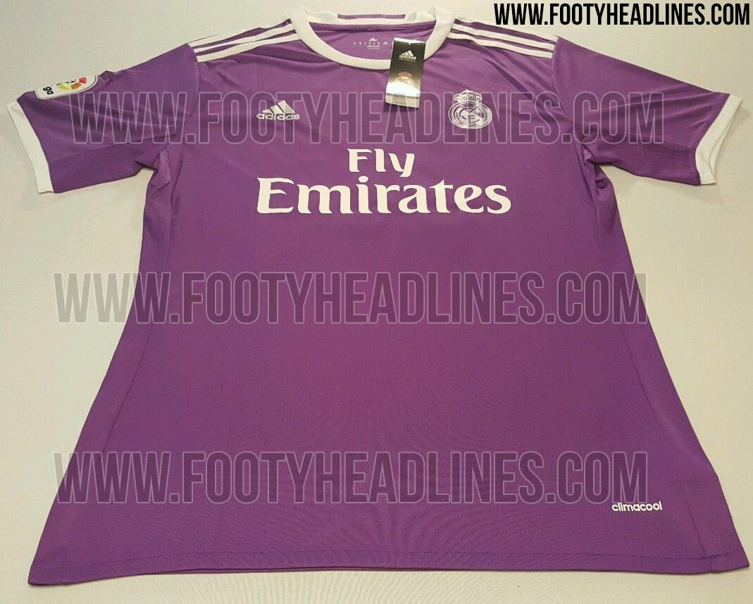 Maillot extérieur Real Madrid 2016-17