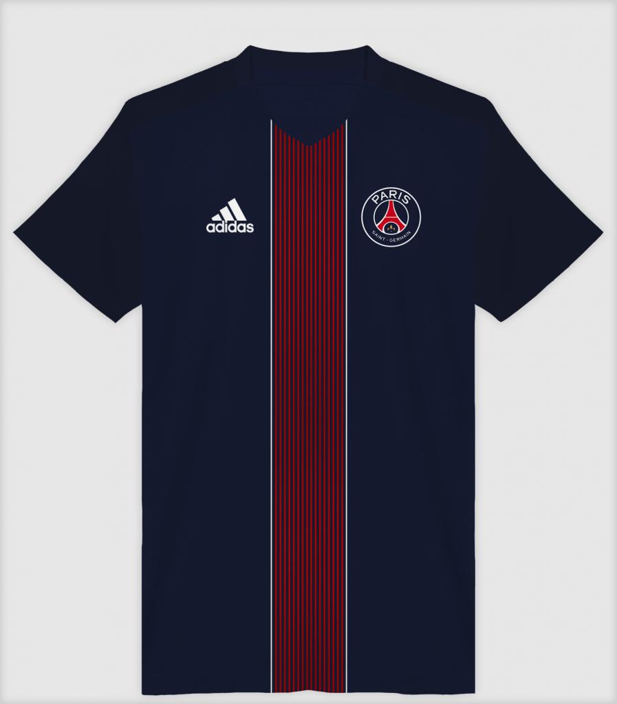 Maillot domicile PSG Adidas version Cenk Ünal