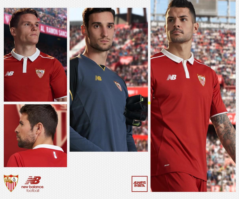 Le nouveau maillot extérieur du FC Séville New Balance