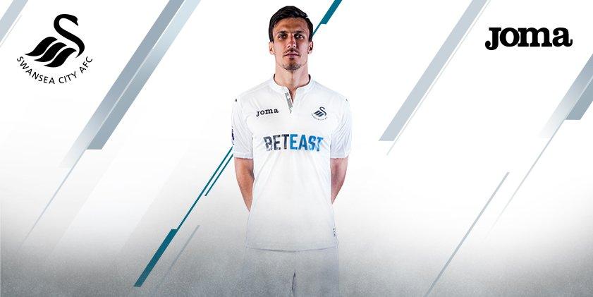 Maillot domicile Swansea 2016-17 Joma