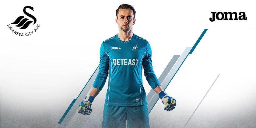 Maillot gardien Swansea 2016-17 Joma