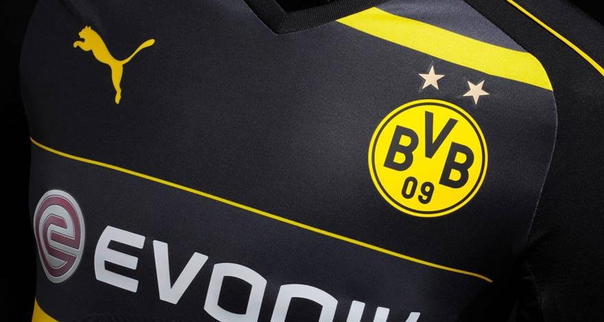 Maillot extérieur Dortmund 2016 - 17 Puma