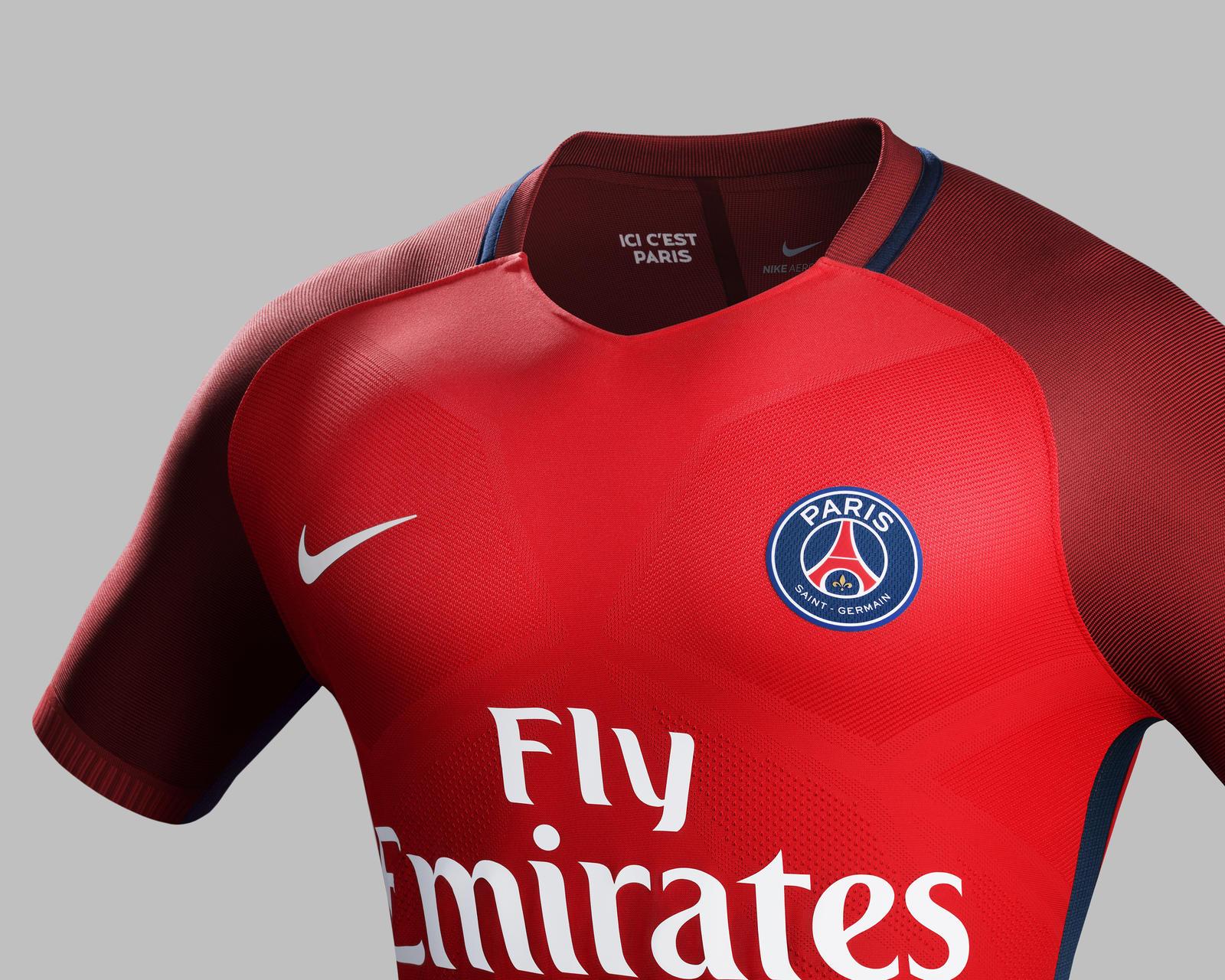 Nouveau maillot extérieur PSG 2016 - 2017 Nike