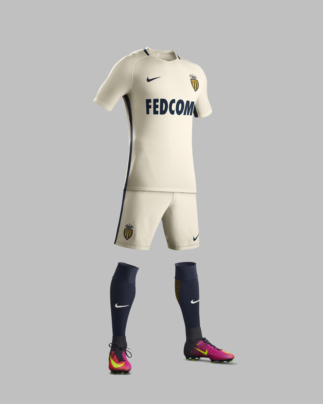 Tenue extérieur AS Monaco 2016 - 2017 Nike