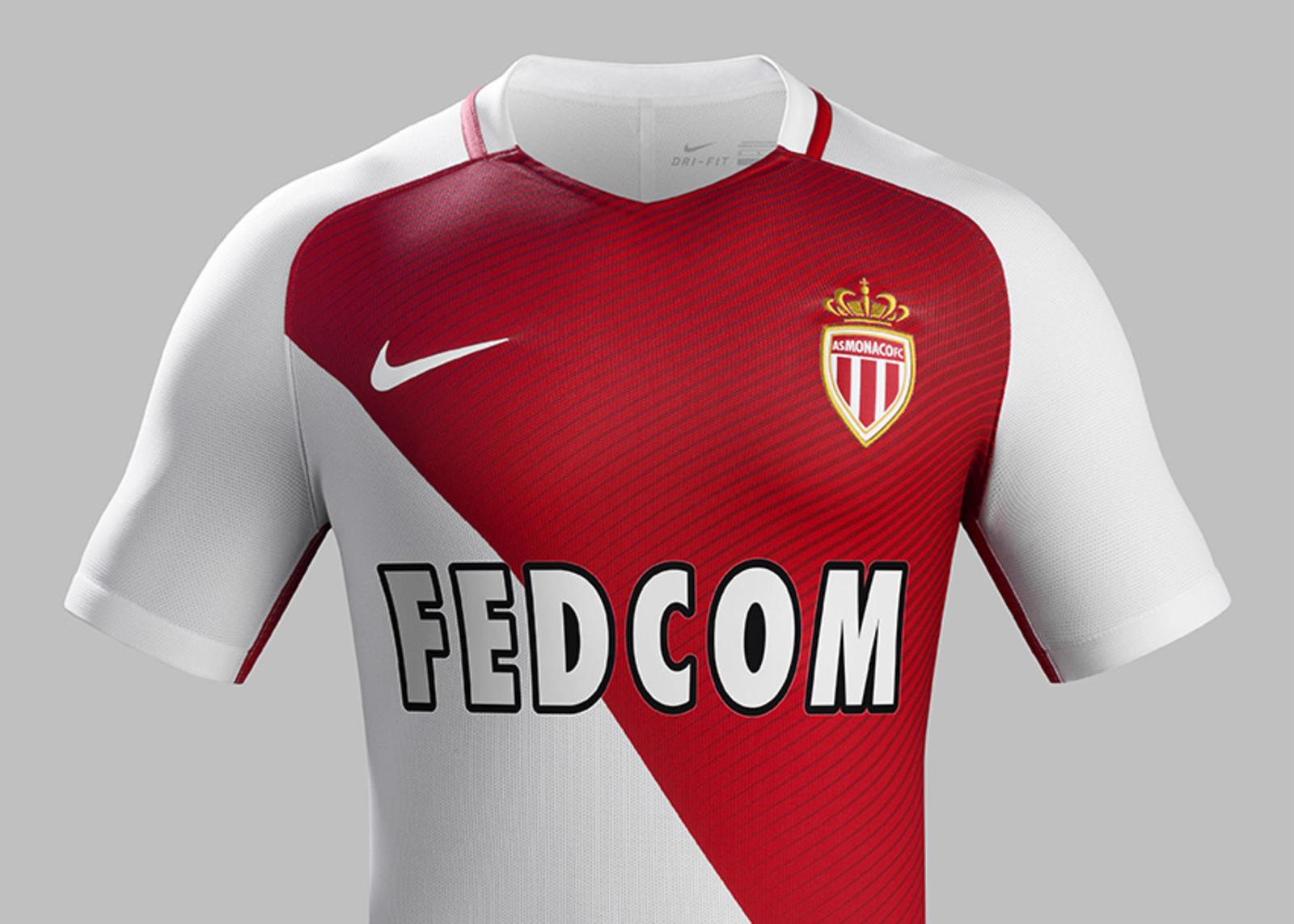 Maillot domicile AS Monaco 2016 - 2017 Nike