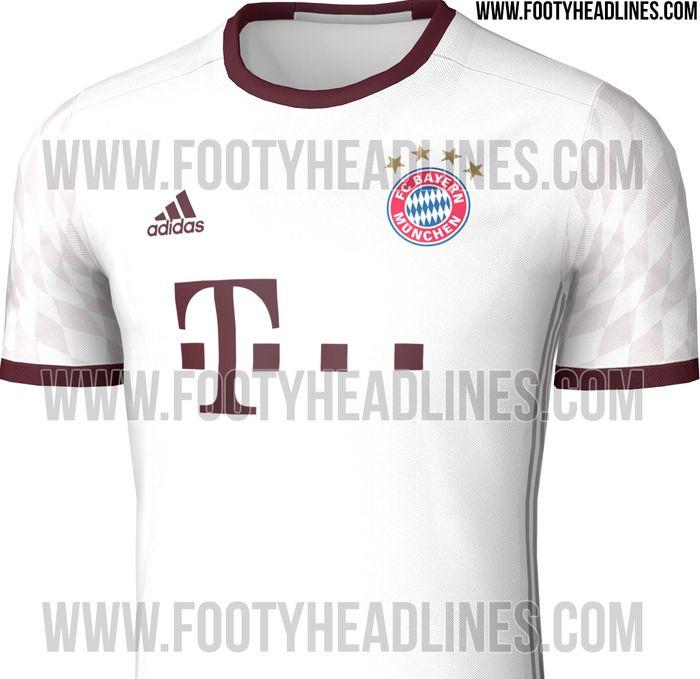 Le Bayern présente son maillot Third Adidas 2016-17
