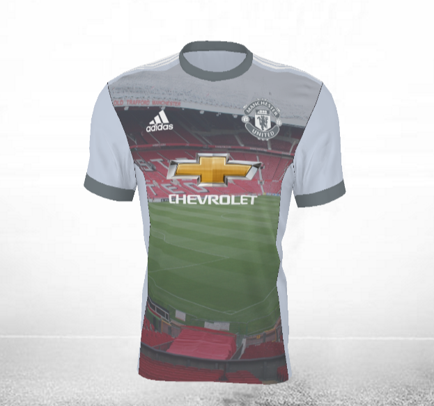 Maillot Third en mode Old Trafford