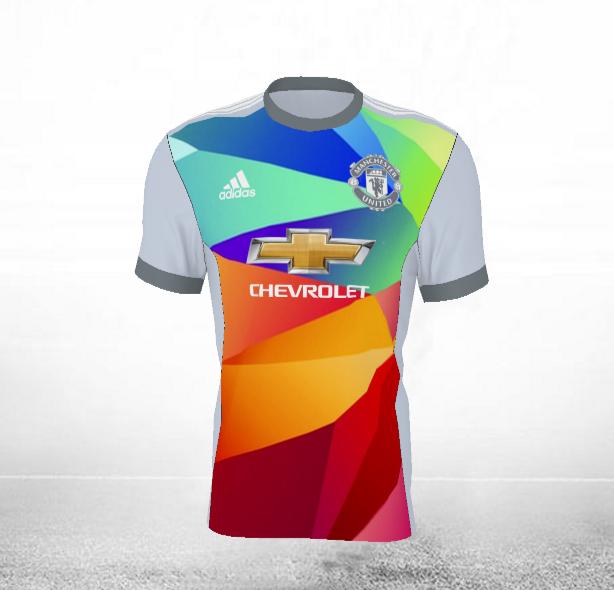Un maillot arc-en-ciel pour le prochain maillot third de MU ?