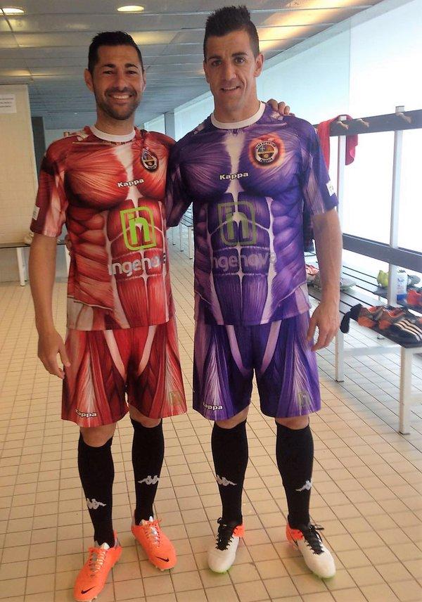 "Les maillots ""muscles"" de Palencia"