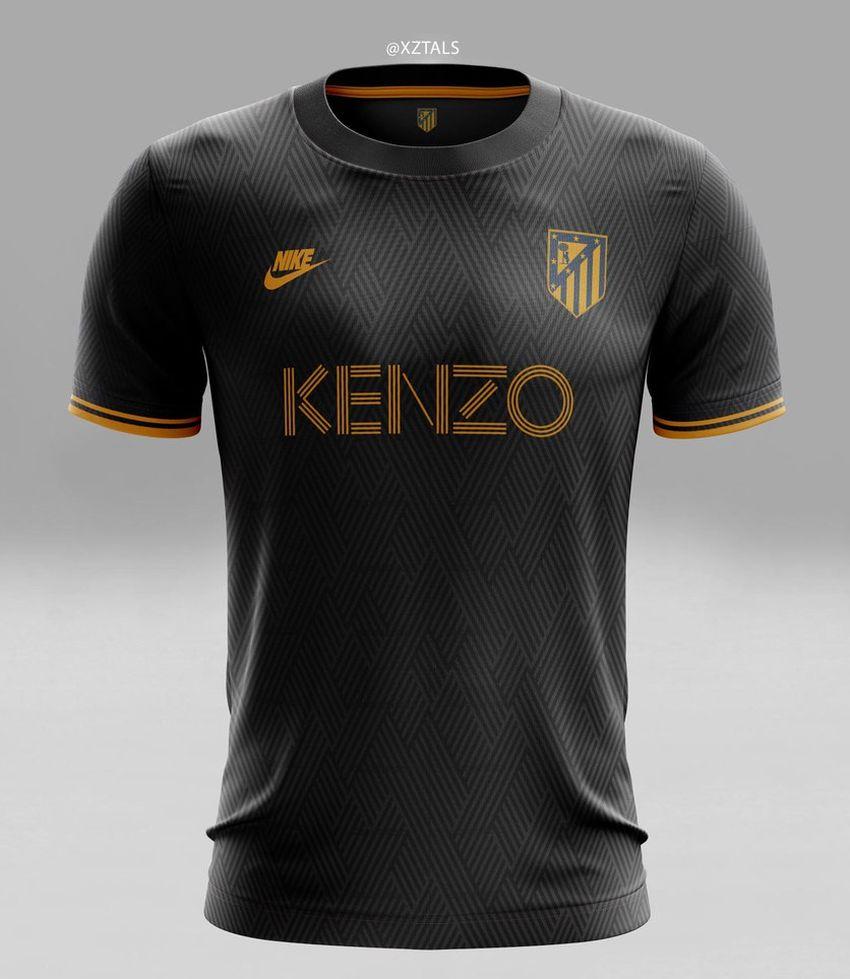 Concept kit Atletico Madrid third Kenzo