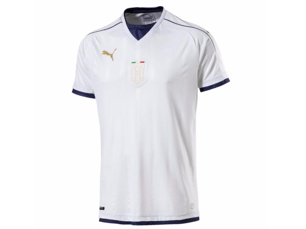 Le nouveau maillot extérieur de la sélection italienne