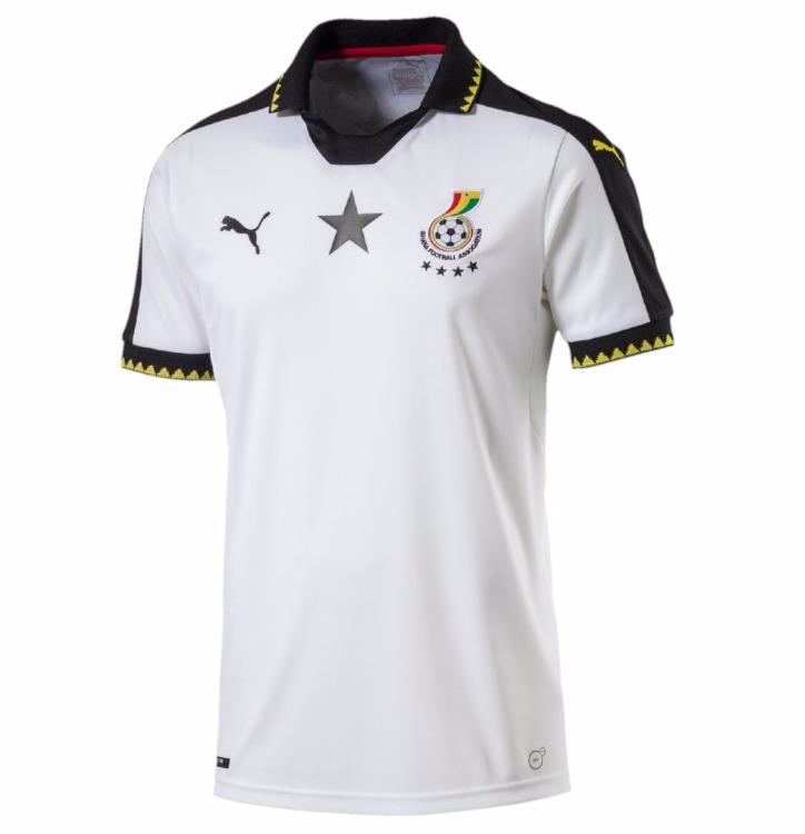Le nouveau maillot du Ghana signé Puma