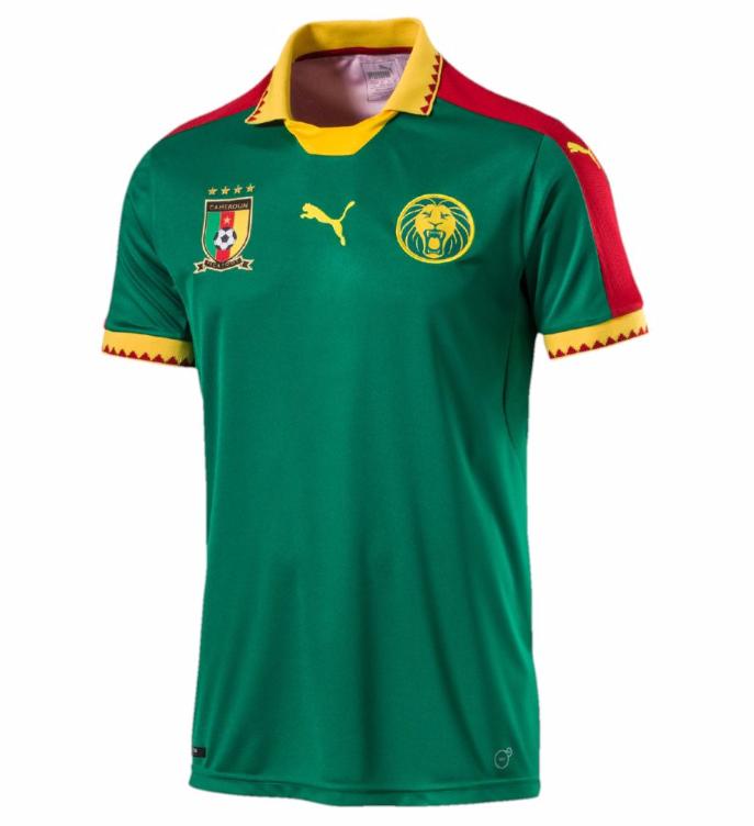 Le nouveau maillot du Cameroun signé Puma