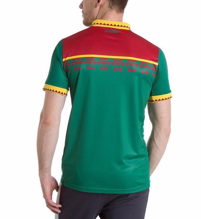 Le nouveau maillot du Cameroun