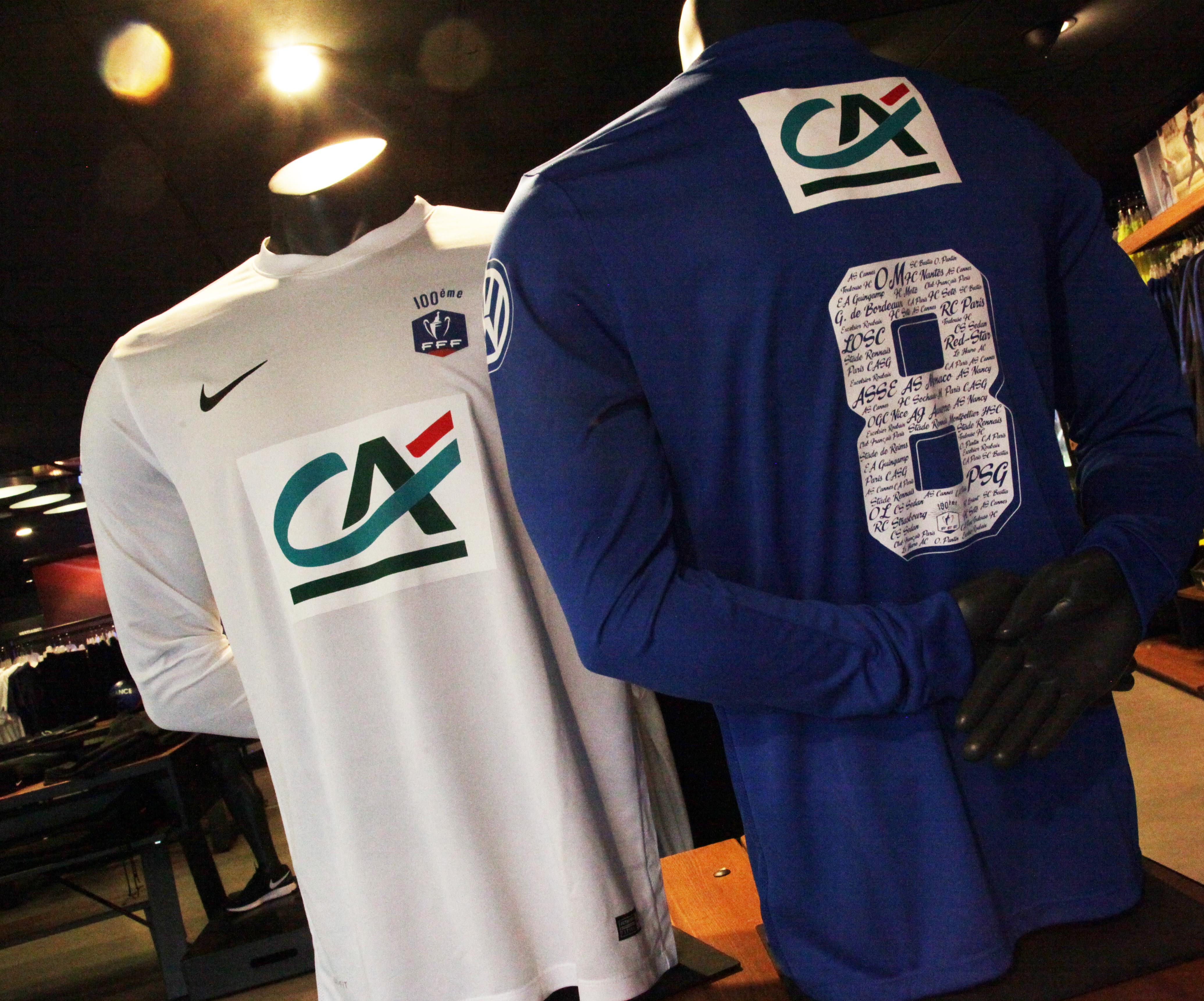 Le maillot collector pour le centenaire de la Coupe de France