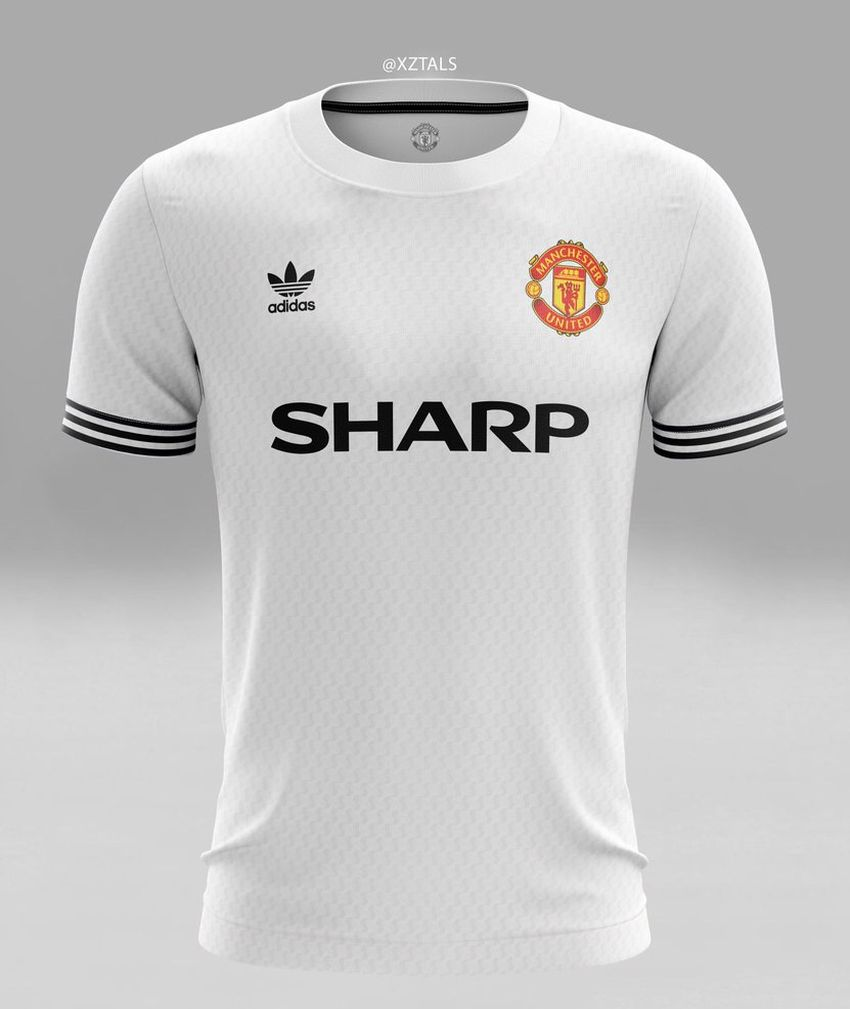 Concept kit Manchester United away adidas Sharp