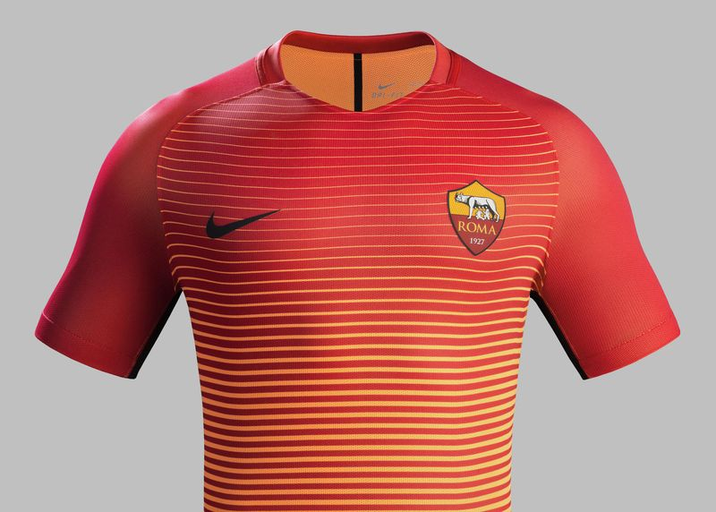 Maillot Nike As Roma Third Nike saison 2016 - 17