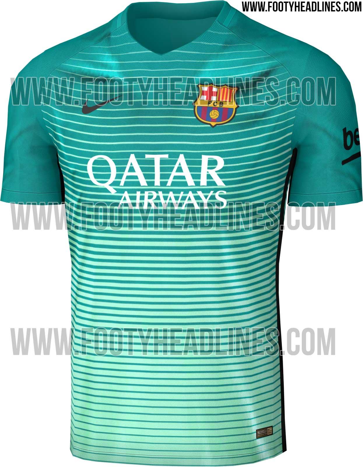 Le troisième maillot du FC Barcelone ?