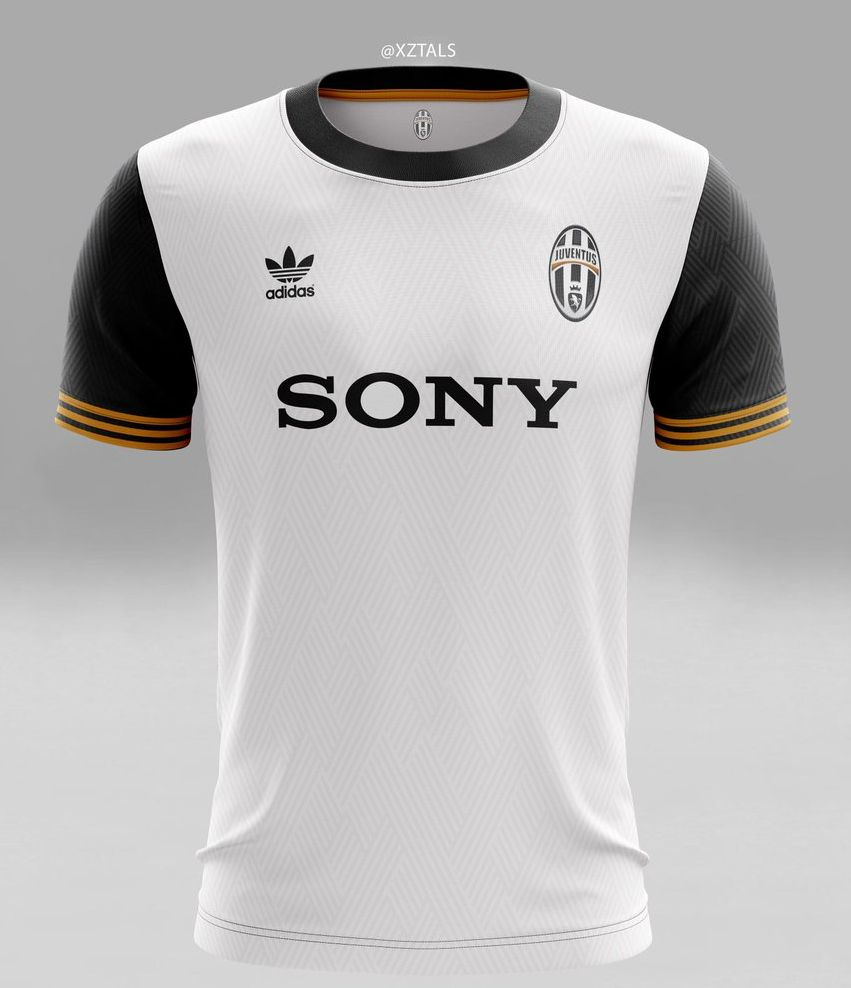 Concept Kit Juventus domicile adidas Sony