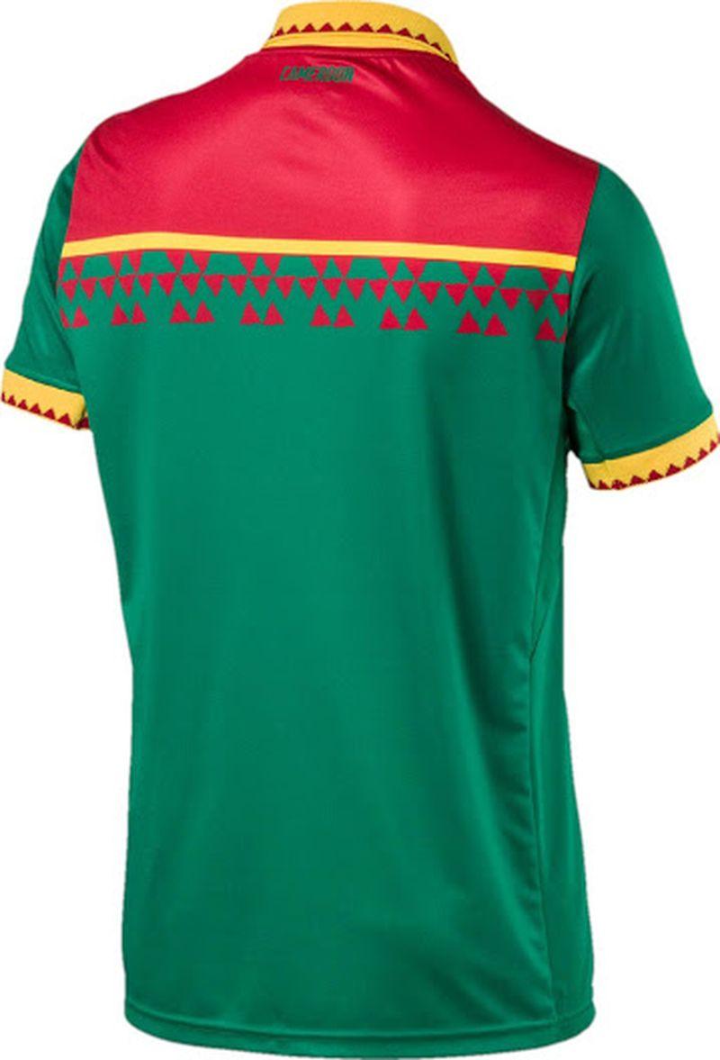 Maillot Cameroun Puma domicile CAN 2017 dos