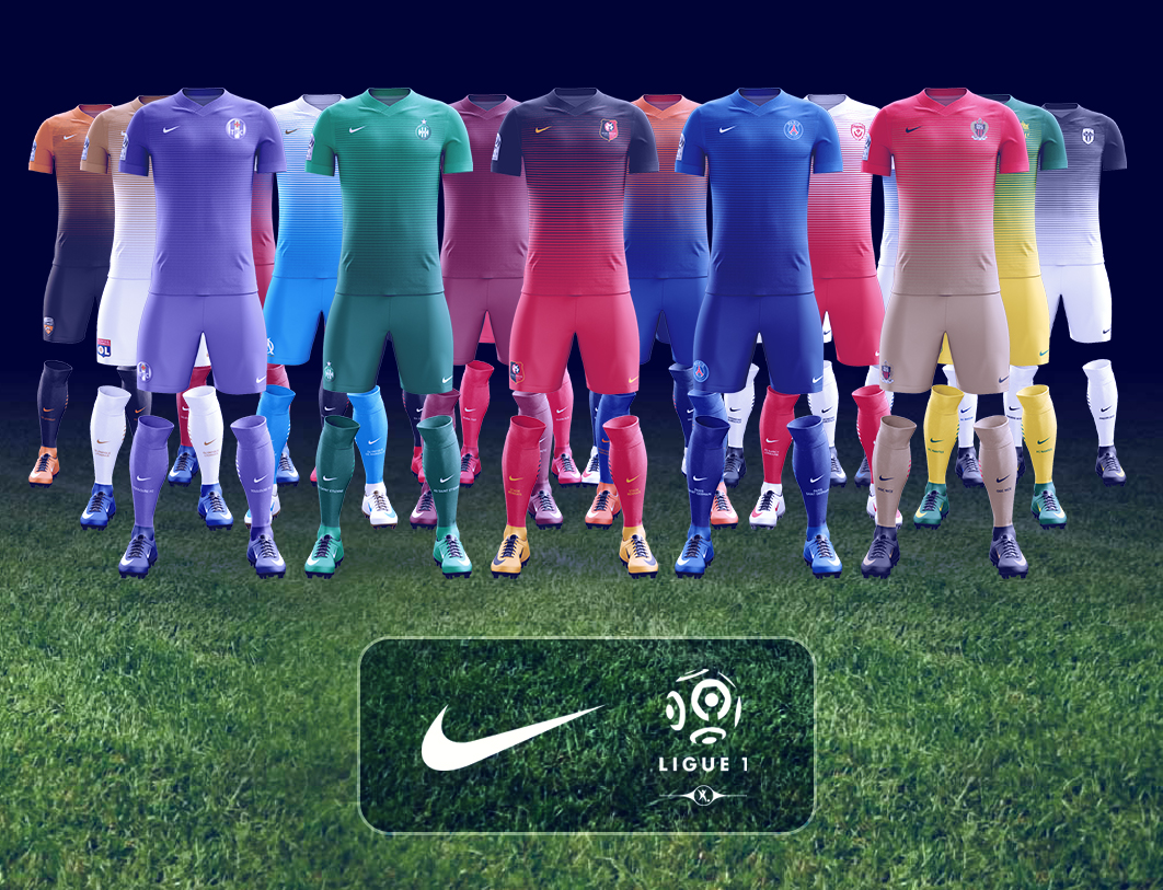 Si Nike équipait la Ligue 1 ?