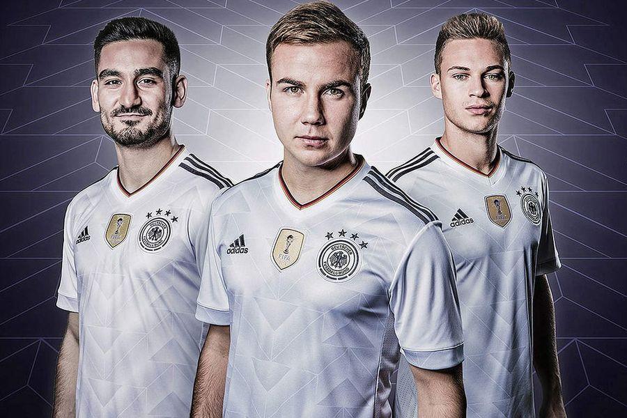Maillot adidas Allemagne Coupe des Confédérations 2017