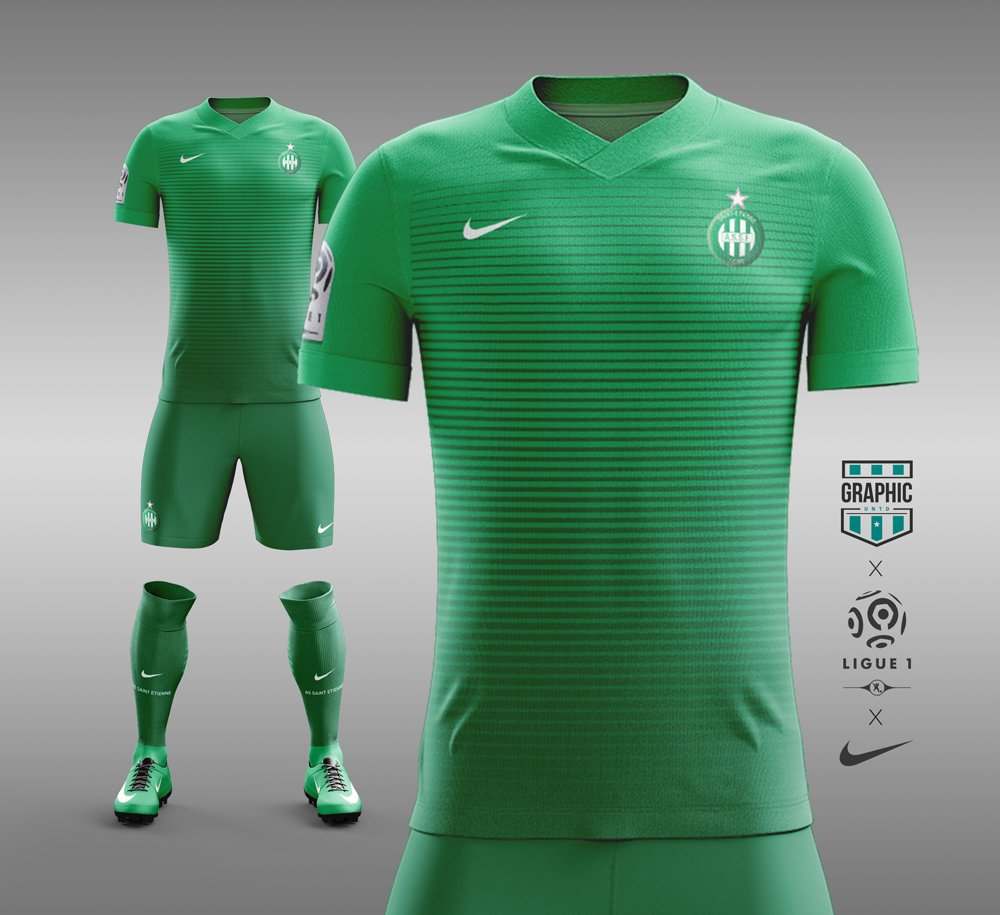 Maillot concept kit Nike ASSE