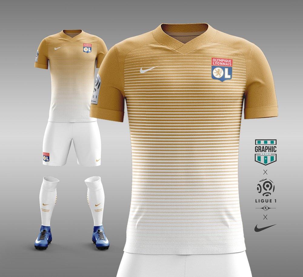 Maillot Concept kit Nike OL