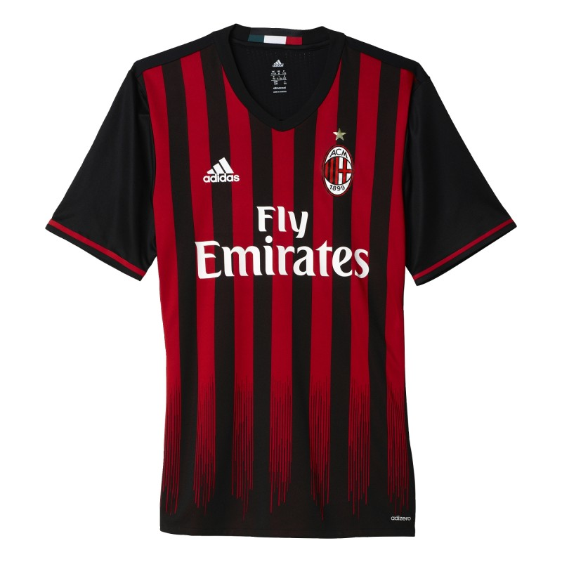 Maillot domicile Milan AC adidas 2016-17
