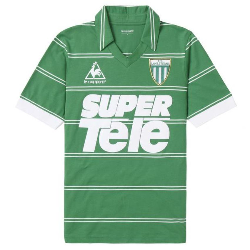 Maillot AS Saint-Etienne Super Telé 1981