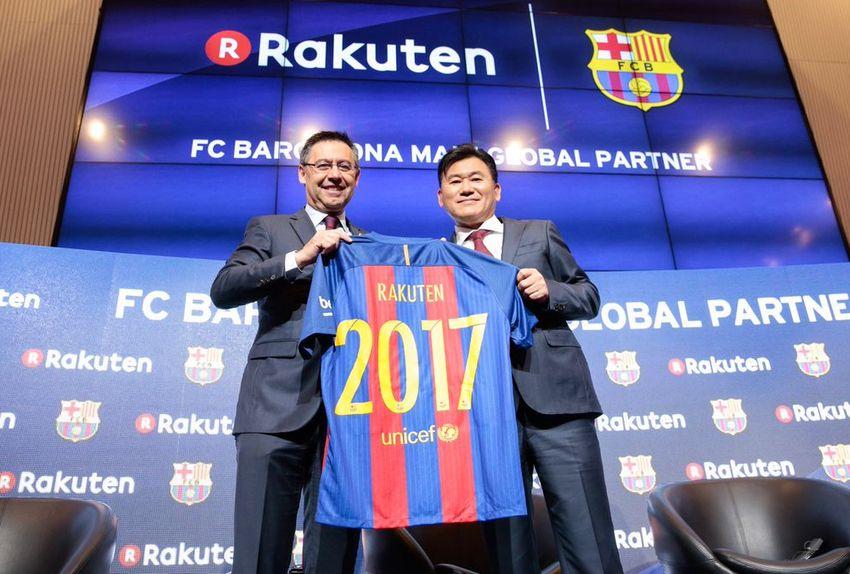 Rakuten devient le sponsor maillot principal du Barça